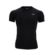 T-shirt Compression Victor unisex Black 5708