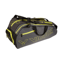 Sac thermo double de Badminton Victor 9110 grey/yellow